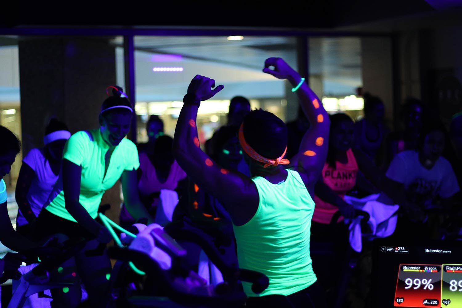 Get Up & Glow Group Fitness Class