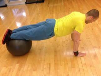 Elevated push-up 1