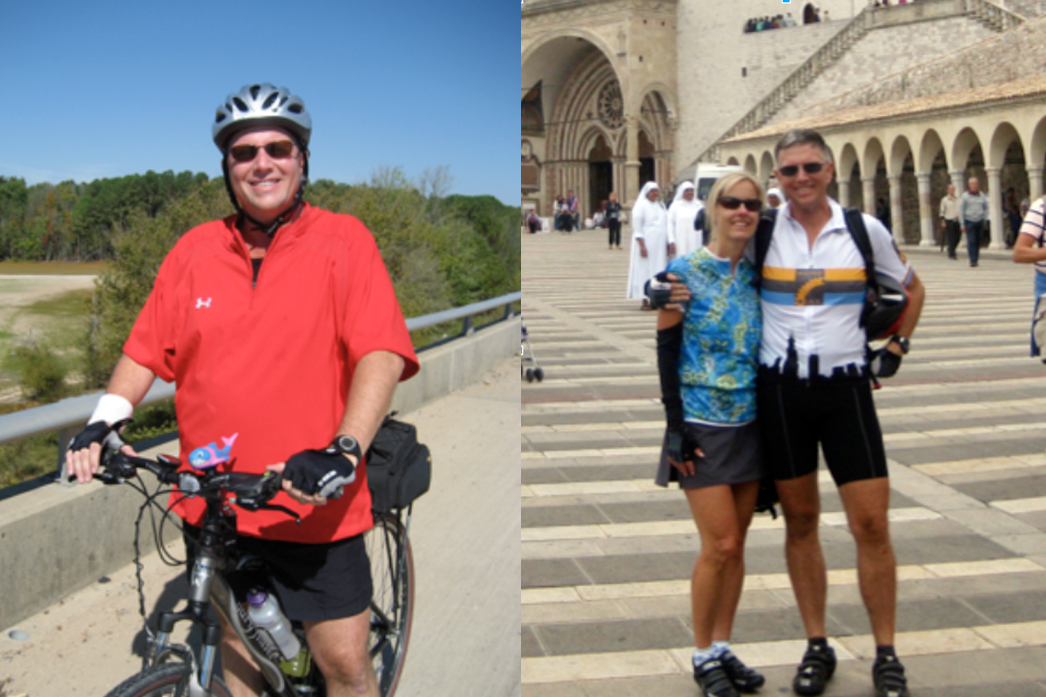 How member Tom went from spin bike to road bike at FFC