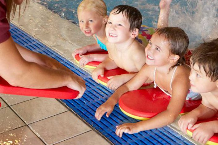 Children's swim lessons at FFC in Chicago