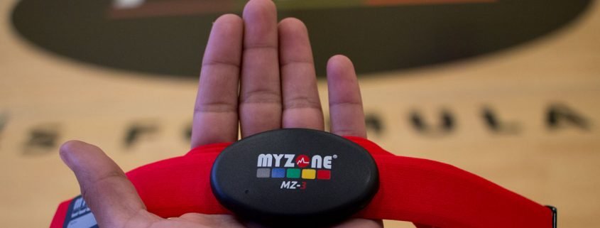 MYZONE heart rate monitor training at FFC