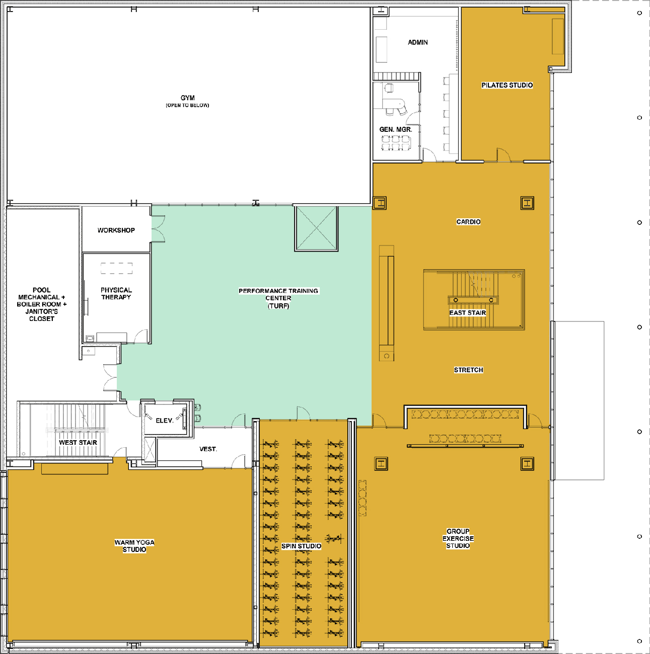 FFC Elmhurst Floorplan - 2nd Floor