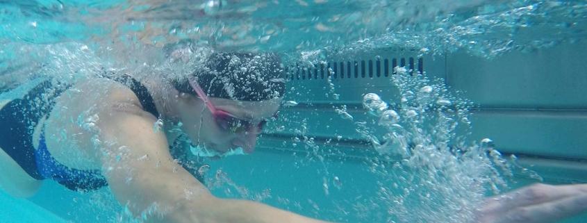 Swimmer training at FFC.