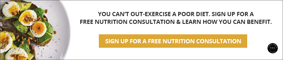 Sign up for a free nutrition consultation