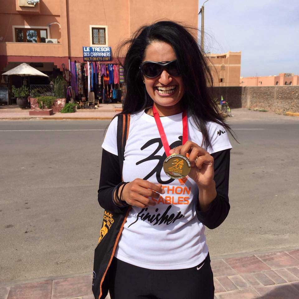 Nisha Harish Ultra Marathon Runner