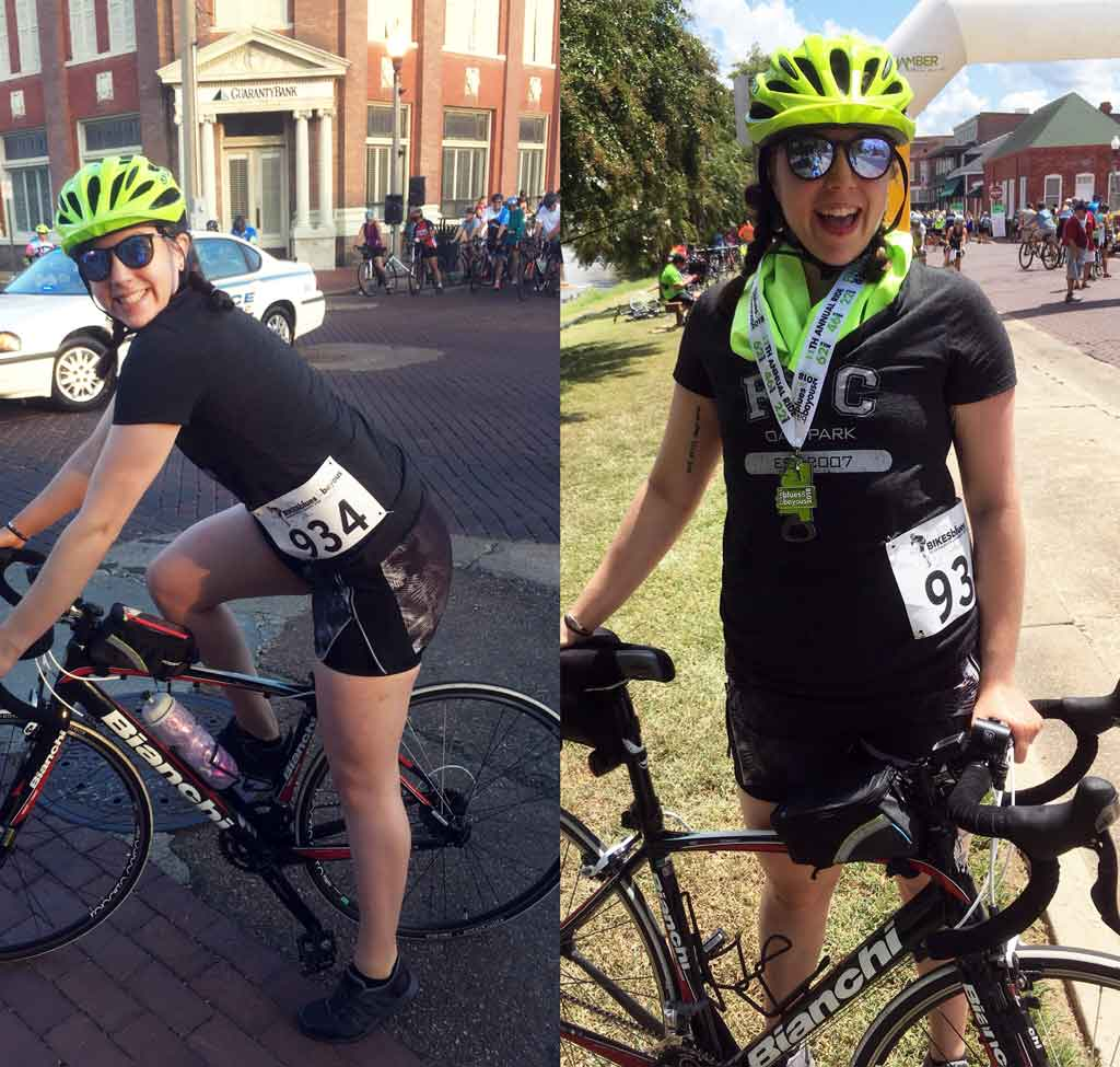 FFC employee spotlight: how spinning helped Rebekah overcome anxiety, depression and PTSD