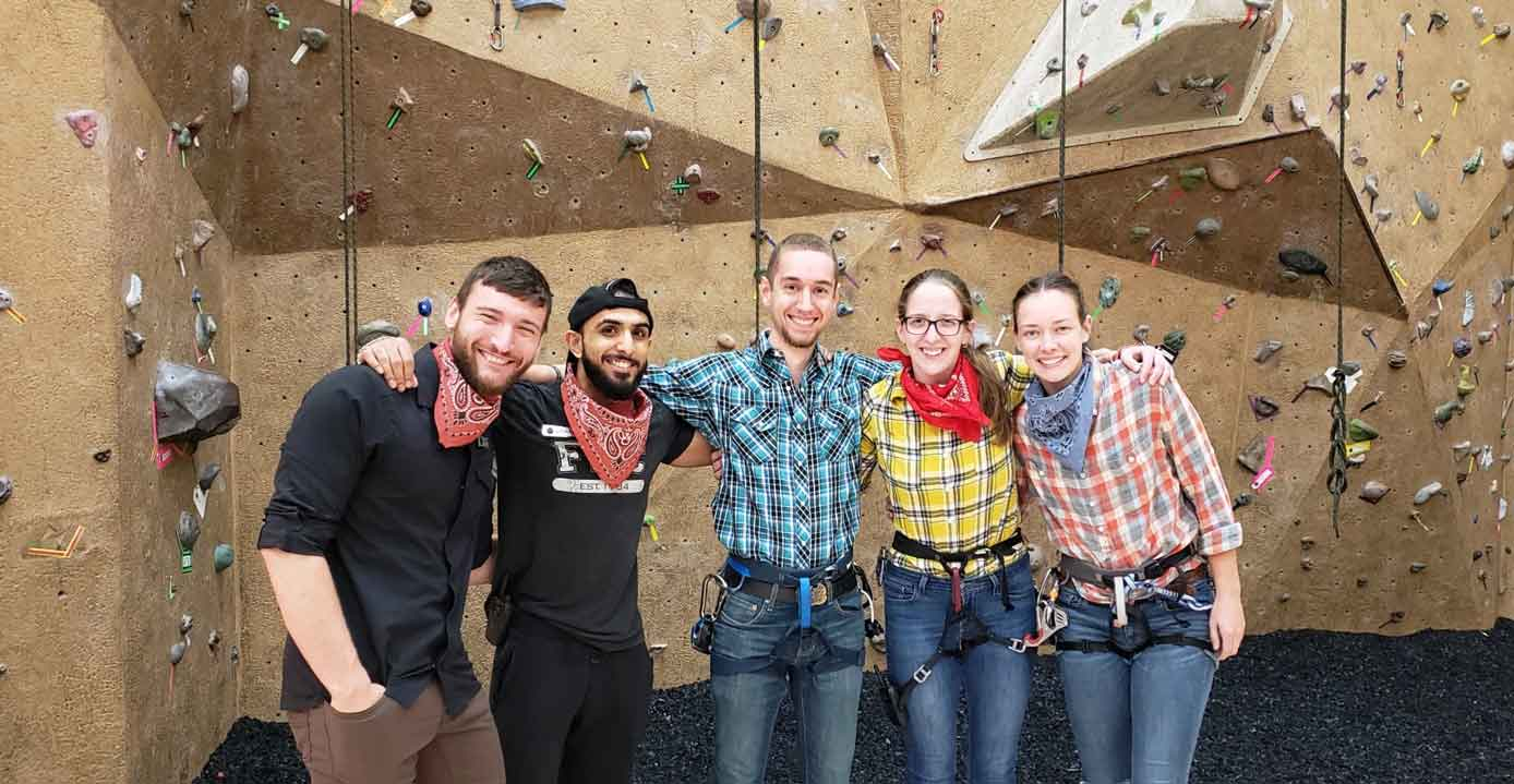 Indoor rock climbing Chicago benefits