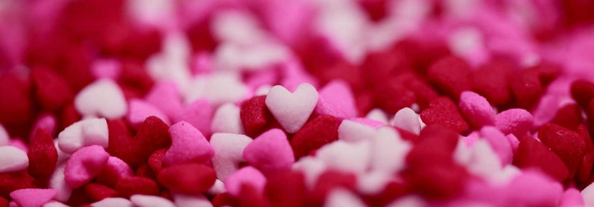 Heart sprinkles