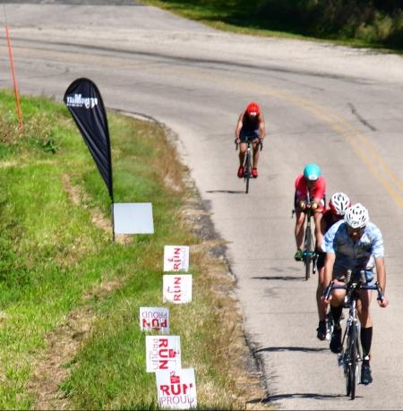 IronMonster Wisconsin camp bike riders.