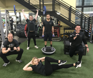 Group photo of personal trainers at FFC Union Station.