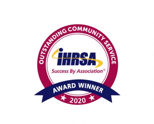 IHRSA - Outstanding Community Service - 2020 Award Winner - Logo
