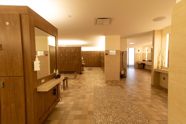 FFC Elmhurst Locker Room