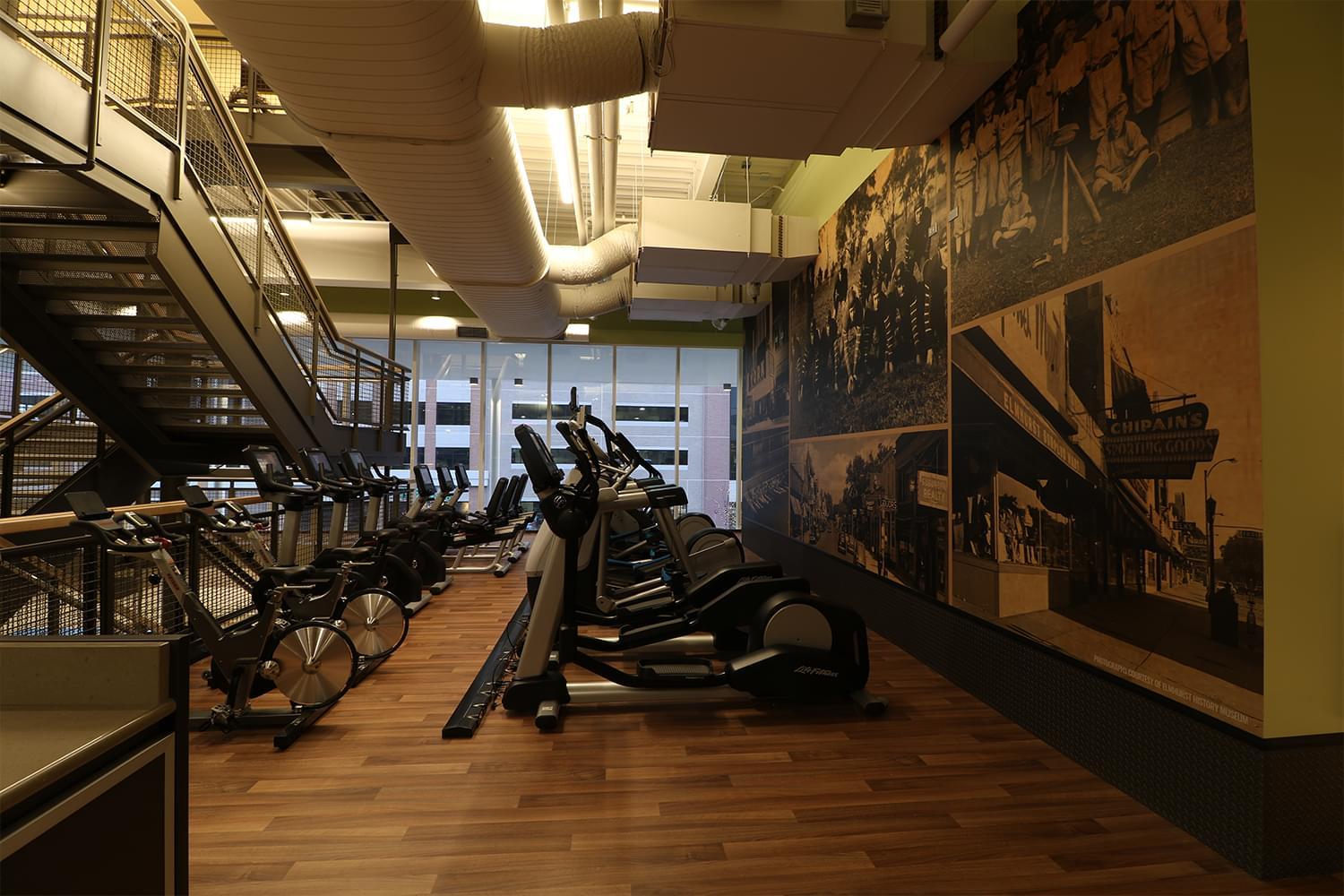 FFC Elmhurst Fitness Machines