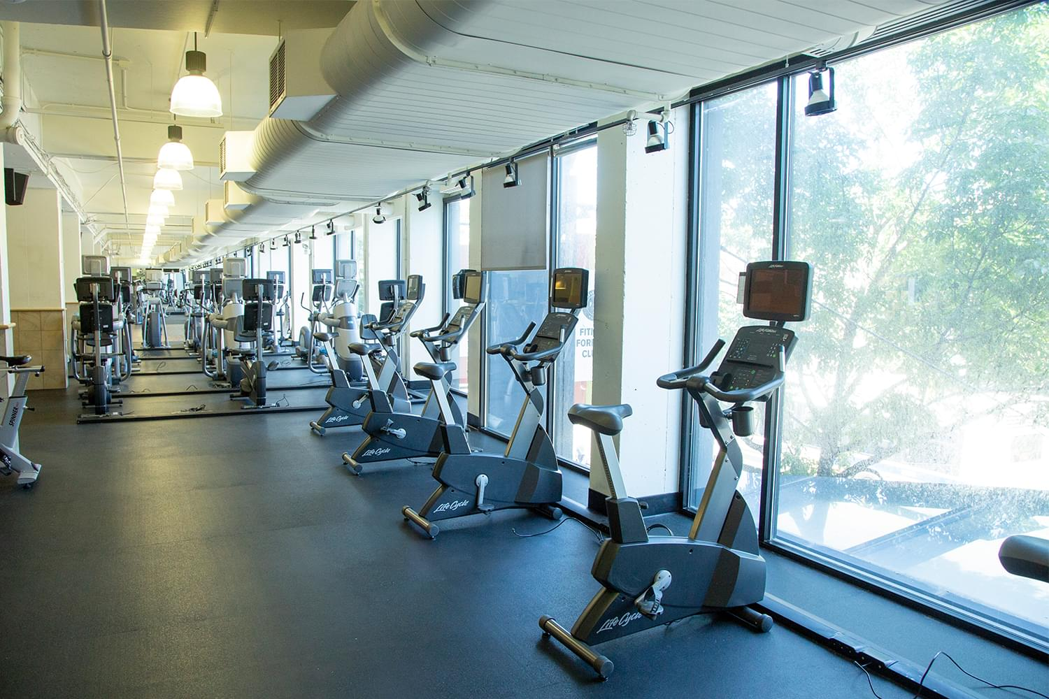 FFC Boystown Fitness Floor Stationary Bikes