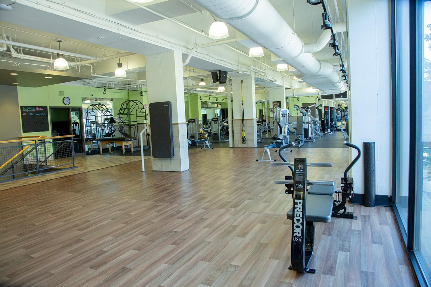 FFC Boystown Fitness Floor Stretching Area