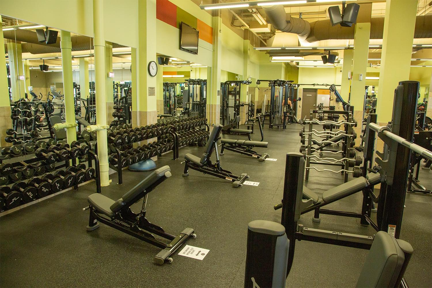 FFC East Lakeview Fitness Floor