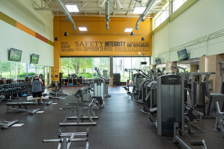 FFC West Loop Fitness Floor