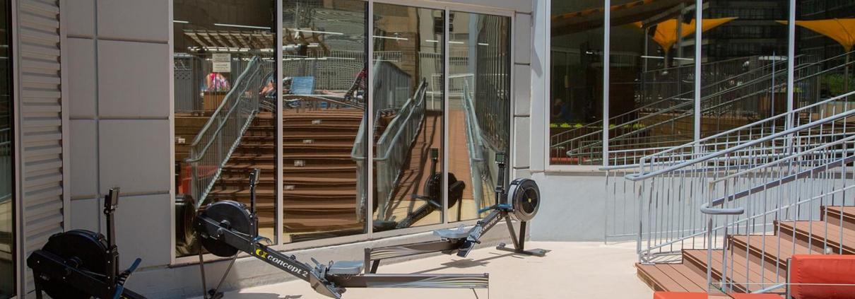 FFC West Loop Outdoor Fitness Area