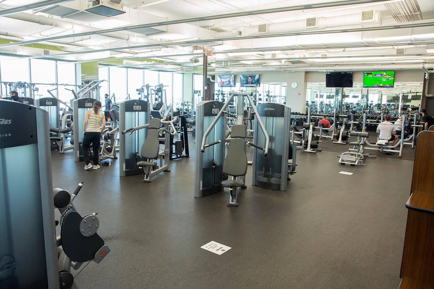 FFC Lincoln Park Fitness Floor