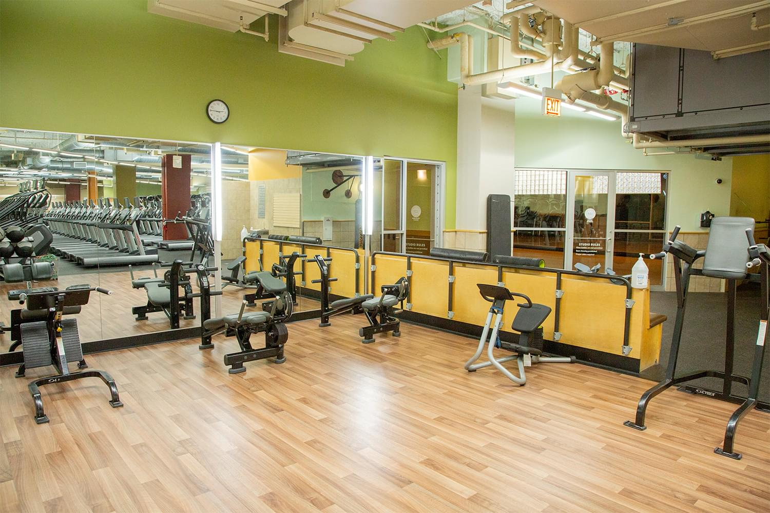 FFC South Loop Fitness Floor
