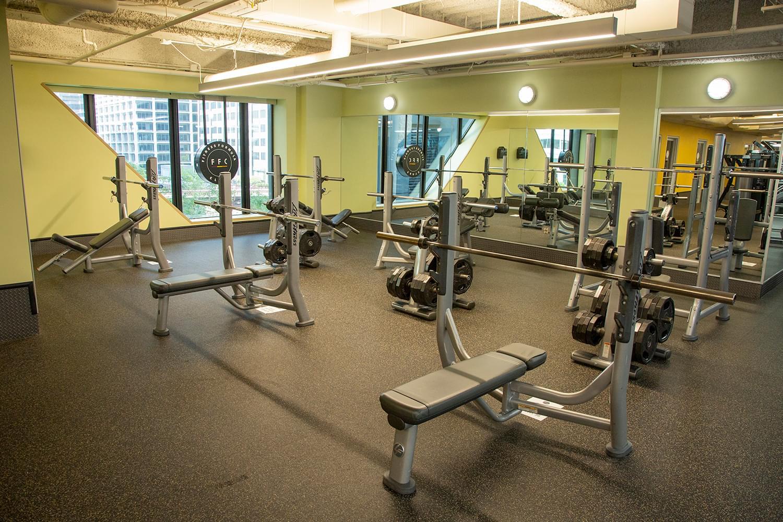 FFC Union Station Fitness Floor Machines