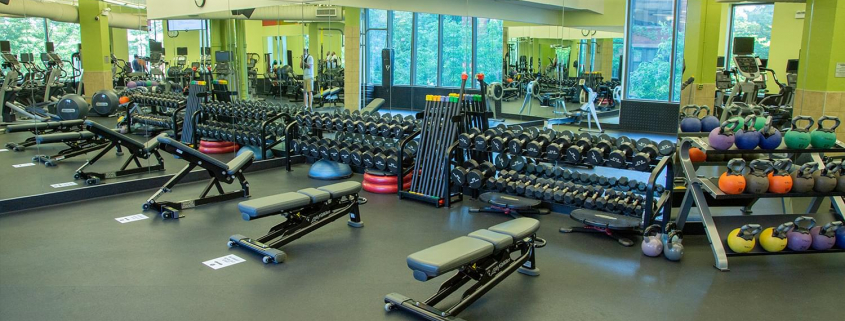 FFC East Lakeview free weight area