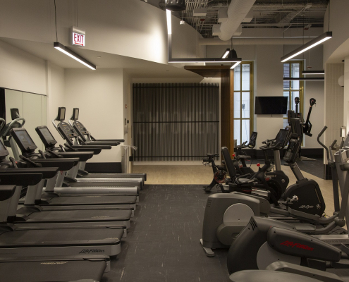 Photo of 190 Athletic Club Fitness Floor Empower Wall