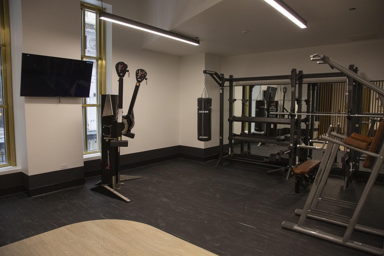Photo of 190 Athletic Club Fitness Floor machines