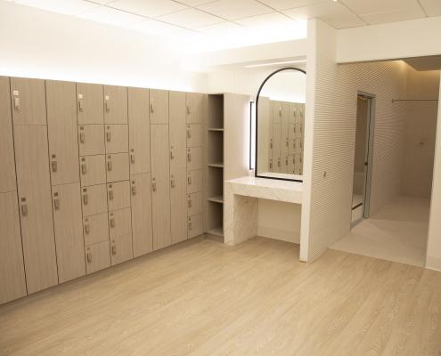 Photo of 190 Athletic Club locker room lockers