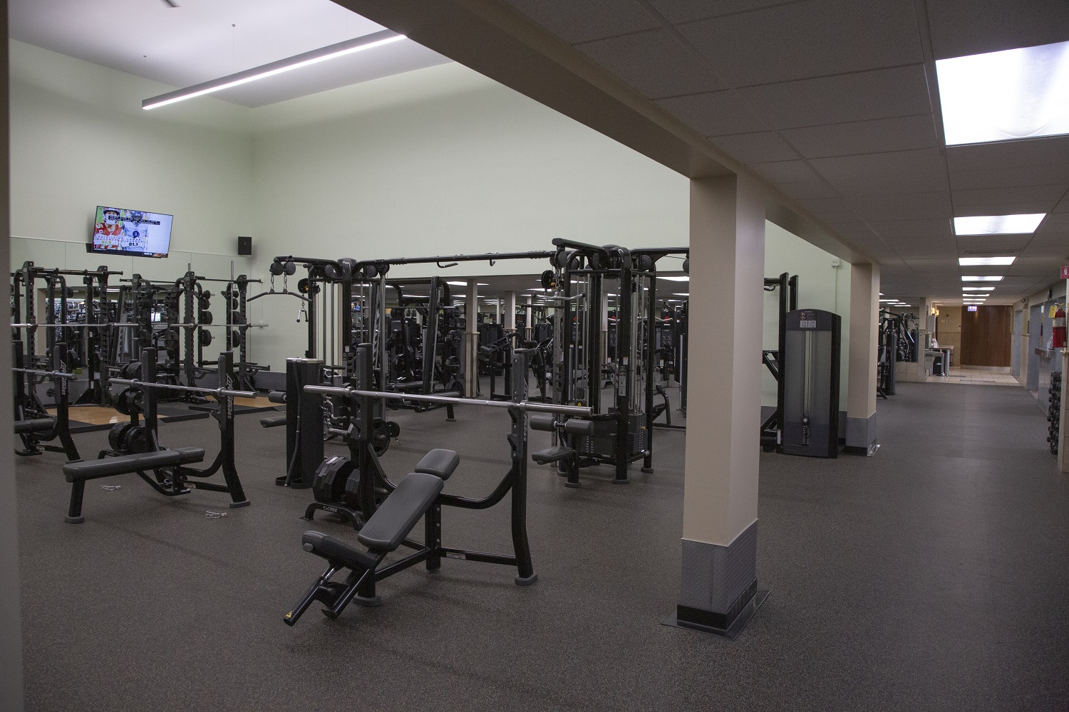 Photo of the FFC Old Town strength machines.
